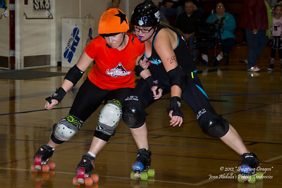 Arizona Rollergirls vs Sin City Rollergirls 12-12