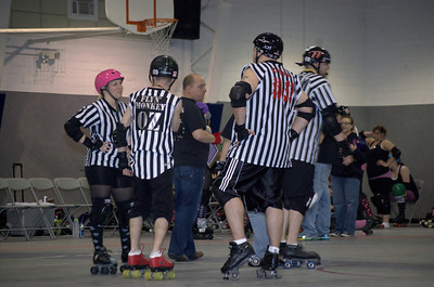 Scrimmage with Cedar Rapids Roller Girls (02-17-11)