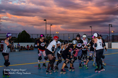 Derby and an Arizona sunset!