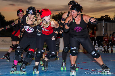 NAZRD Whiskey Row-llers v AZRD Surly Gurlies 8-2015