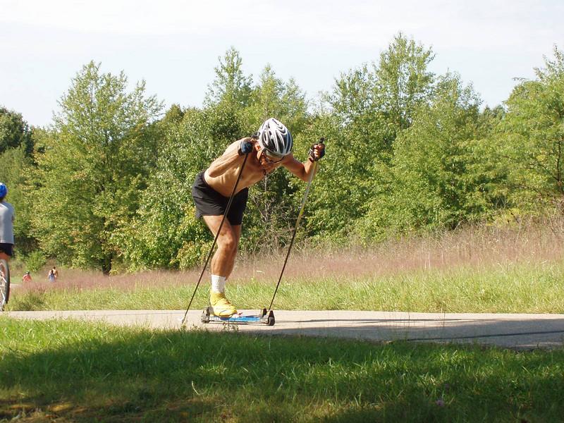 Stud Ken Dawson on the trail.