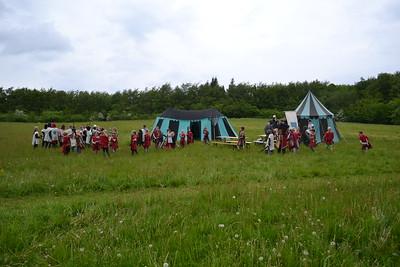 Baron Ravns folk samles