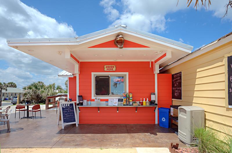 """Saltwater Croc's Grill""  Flagler Beach"