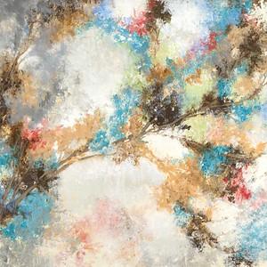 Summer Bouquet-jardine, 40x40