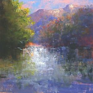 "Torabi, 48""X48"" painting on canvas"