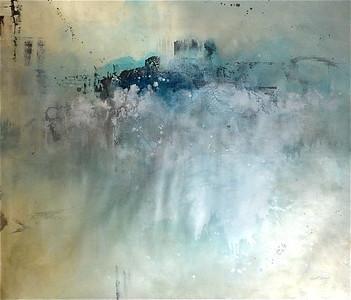 Beach Glass-Carney, 60x50 canvas