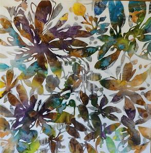 """Breath of Fresh Air-Jardine, 48""""x48"""" on canvas"""