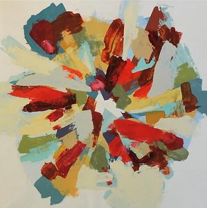 "Wonderland-Hibberd, 40""X40"" painting on canvas (16-1-02) JPG"