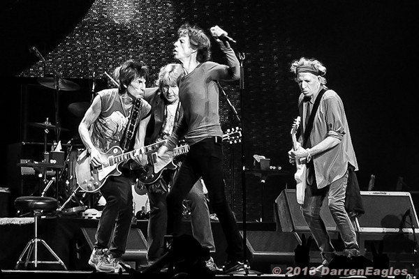 """2013 June 06 - Air Canada Centre - Toronto - Rock icons, The Rolling Stones performed their second show in 2 weeks in Toronto this past Thursday night on their """"50 and Counting"""" tour."""