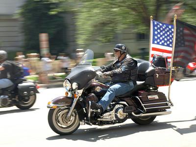 Rolling Thunder motorcycle rally, Washington DC, May 30, 2010.