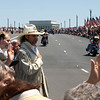Rolling Thunder Motorcycle Rally, Washington, DC, May 25, 2008. Is that the ghost of George Custer?
