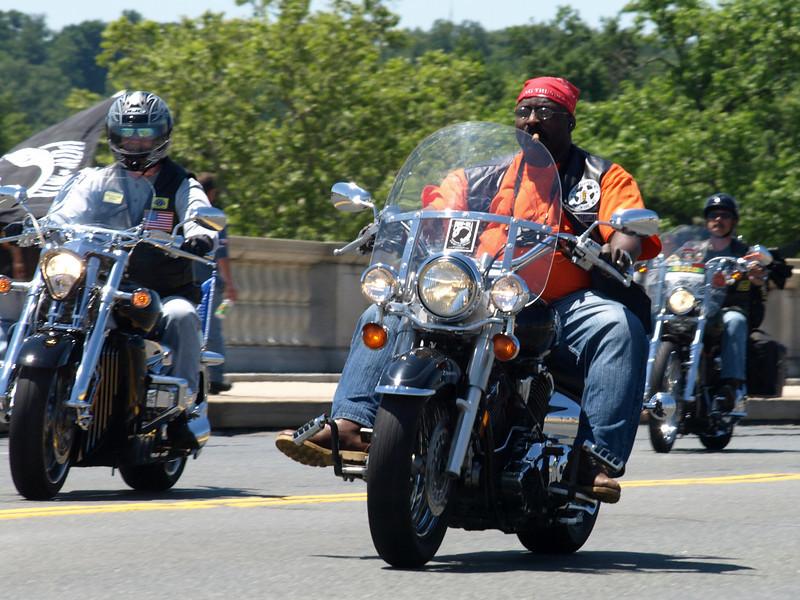 Rolling Thunder Motorcycle Rally, Washington, DC, May 25, 2008.