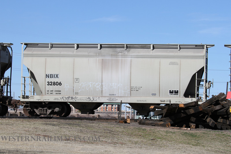 Cars 101 - Feb 23 2012 - Car NBIX 32806 on Stillwater Central @ Oklahoma City OK - By Doug Ozment