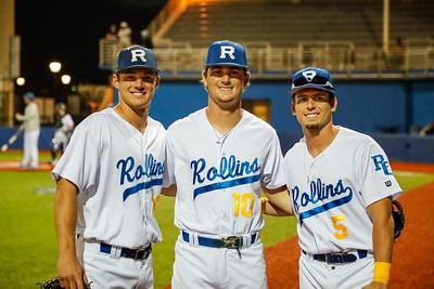 NCAA Baseball: Rollins Host Spring Hill