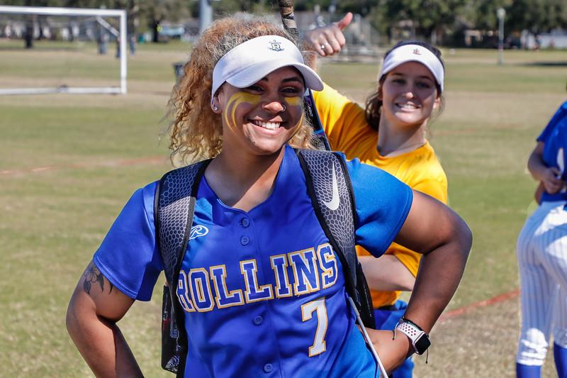 NCAA Softball: Rollins Host Queens (N.C.)