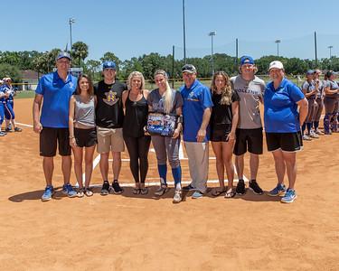 NCAA Softball: Rollins Honor Seniors
