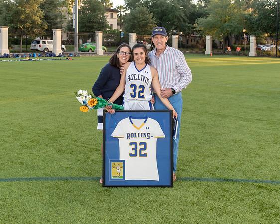 NCAA Women's Lacrosse: Rollins Honor Seniors