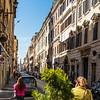 Via Corso looking towards Piazza del Popolo
