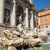 Trevi Fountain with sculptures by Bernini