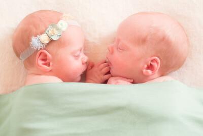 Roman & Nina Newborn