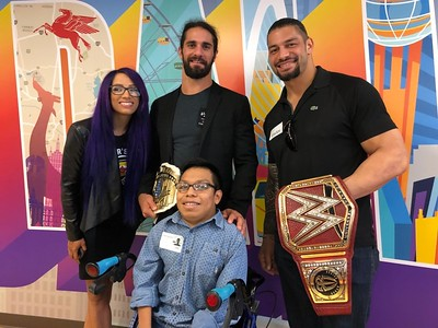 Roman Reigns - Childrens Health / Connors Cure (Sept 17, 2018)