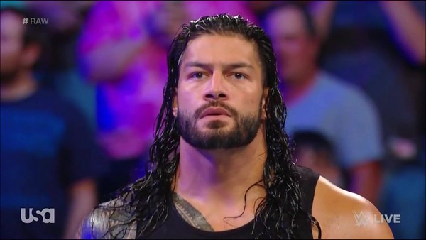Roman Reigns - Raw Screencaps / July 2, 2018
