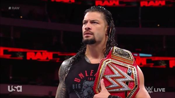 Roman Reigns - Raw Screencaps (Sept. 17, 2018)