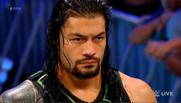 Roman Reigns - Screencaps / Raw Aug. 6, 2018