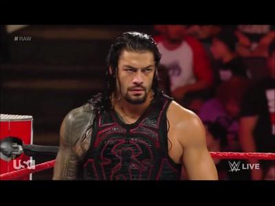 Roman Reigns - Screencaps / Raw July 23, 2018