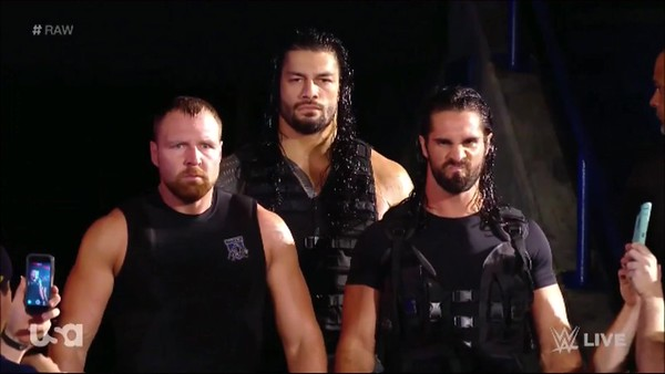Roman Reigns / The Shield - Screencaps Raw Sept. 10, 2018