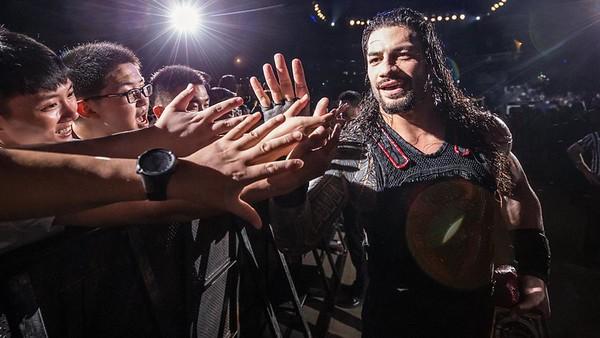 Roman Reigns - WWE Live Shanghai (Aug 2018)
