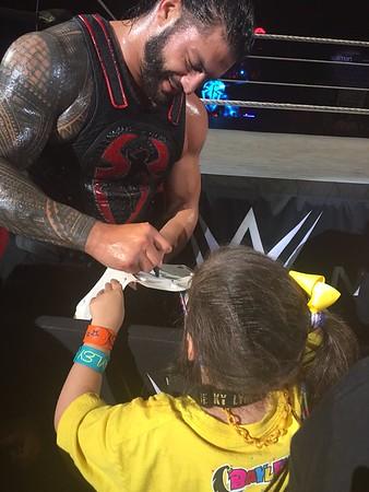 Roman Reigns - WWE Live Wheeling