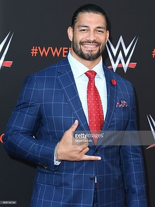 """arrives at the WWE's First-Ever Emmy """"For Your Consideration"""" Event at Saban Media Center on June 6, 2018 in North Hollywood, California."""