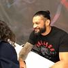 The Big Dog @WWERomanReigns at his Signing at #worldofwheels in Indianapolis Feb. 10, 2019...🔥💗 #RomanReigns #RomanEmpire #universalchampion #wwe #raw #joeanoai #samoanbadass #SamoanDynasty #AnoaiFamily #anoaistrong (cr: IG/_mike_w23)