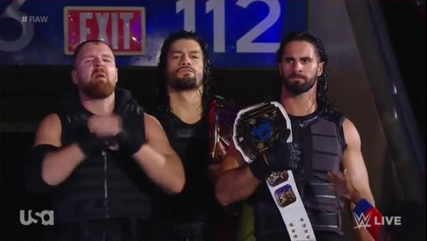 Roman Reigns / the Shield - Screencaps Raw (Oct 15, 2018)