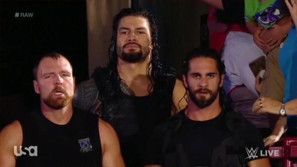 Roman Reigns / the Shield - Screencaps  Raw Sept. 3, 2018