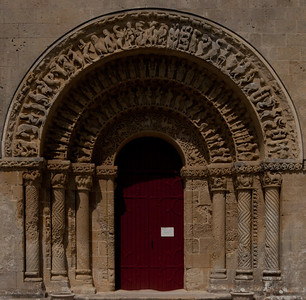 Aulnay-de-Saintonge Abbey South Portal