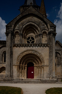 Aulnay-de-Saintonge Abbey South Facade