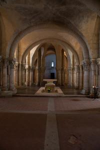 Saintes, Saint-Eutrope Church Crypt