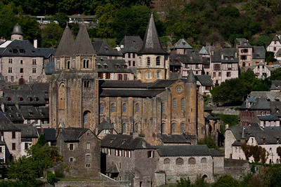 Abbey Church of Saint Foy from the South