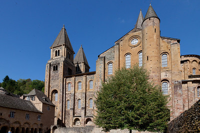 Abbey Church of Saint Foy South Side