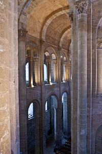 Abbey Church of Saint Foy Nave Elevation from the Tribune Gallery