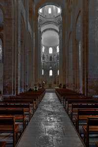 Abbey Church of Saint Foy Nave and Choir