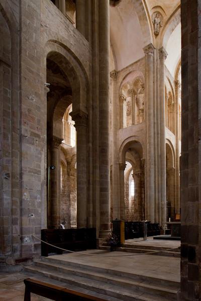 Abbey Church of Saint Foy Crossing
