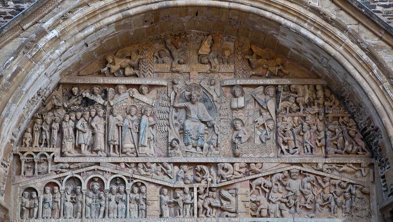 Abbey Church of Saint Foy Tympanum Last Judgment Tympanum