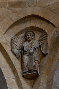 Abbey Church of Saint Foy Crossing Spandrel Angel