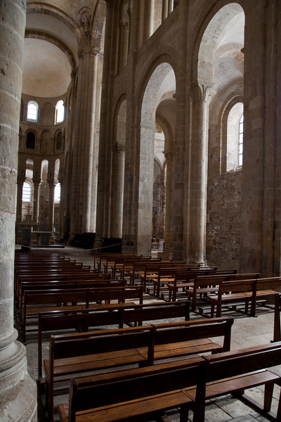 Abbey Church of Saint Foy Nave Arcade