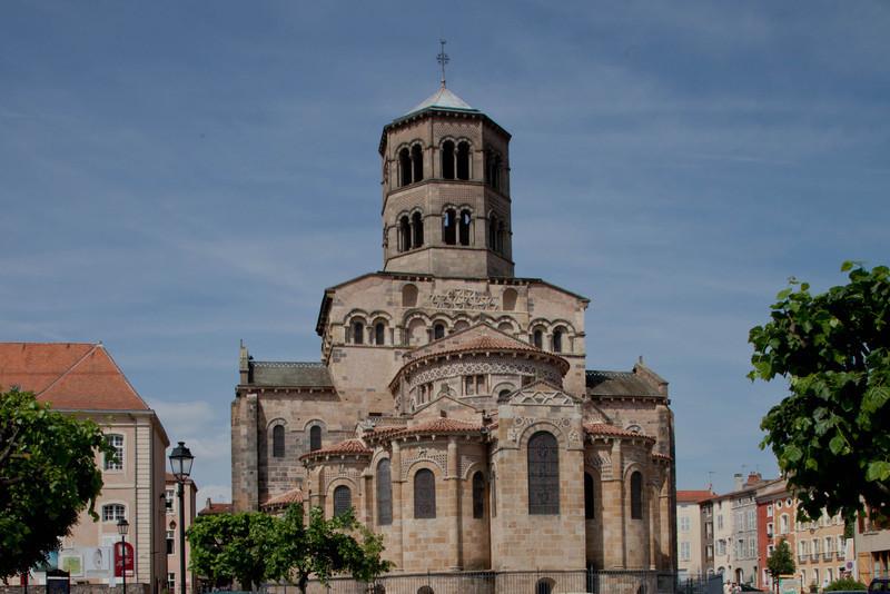 Issoire. Saint-Austremoine Abbey