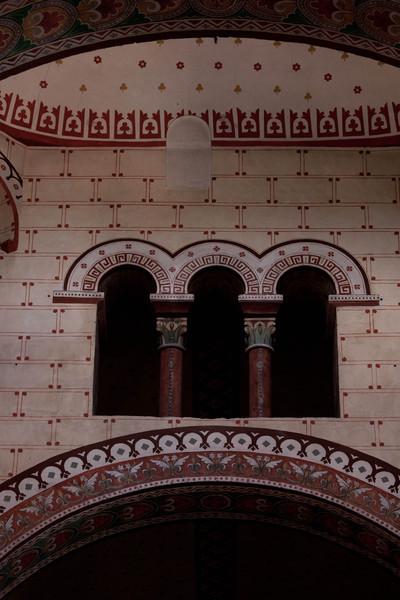 Issoire. Saint-Austremoine Abbey Crossing Vault Niche