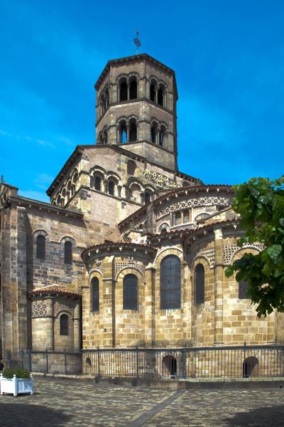 Issoire. Saint-Austremoine Abbey Lantern Tower